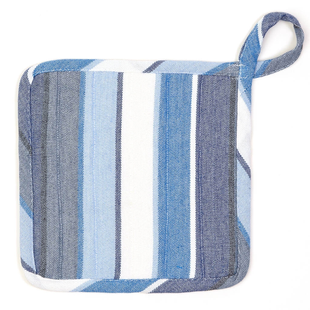 Square Pot Holder | Regatta Stripe