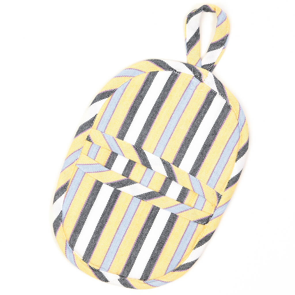 Mini Oven Mitt | Country French Stripes
