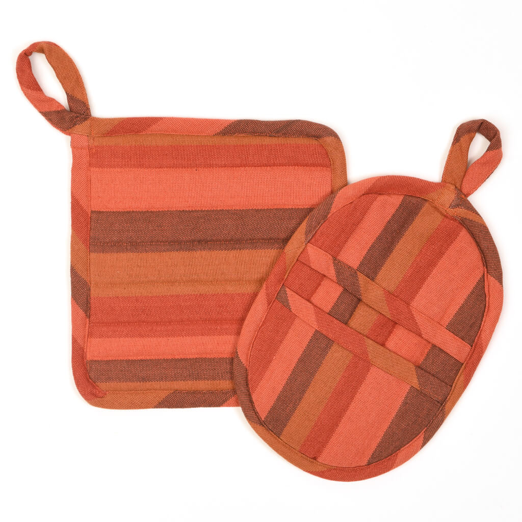 Potholder Gift Set | Pumpkin Spice