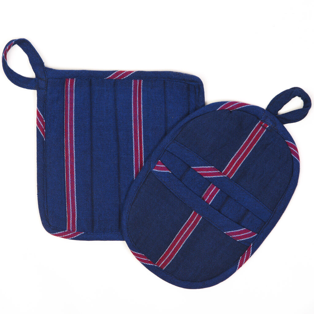 Potholder Gift Set | Red, White & Blues