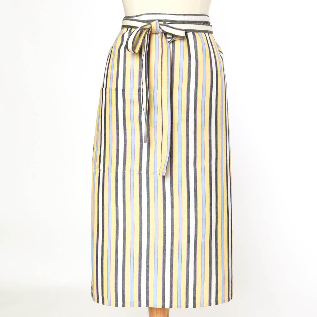 Bistro Apron | Country French Stripes
