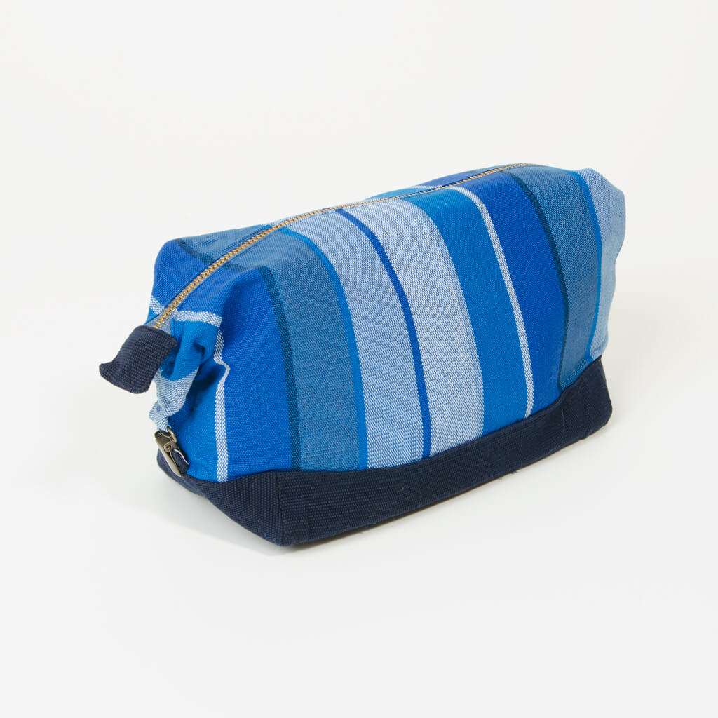 Stormy Blues toiletry bag