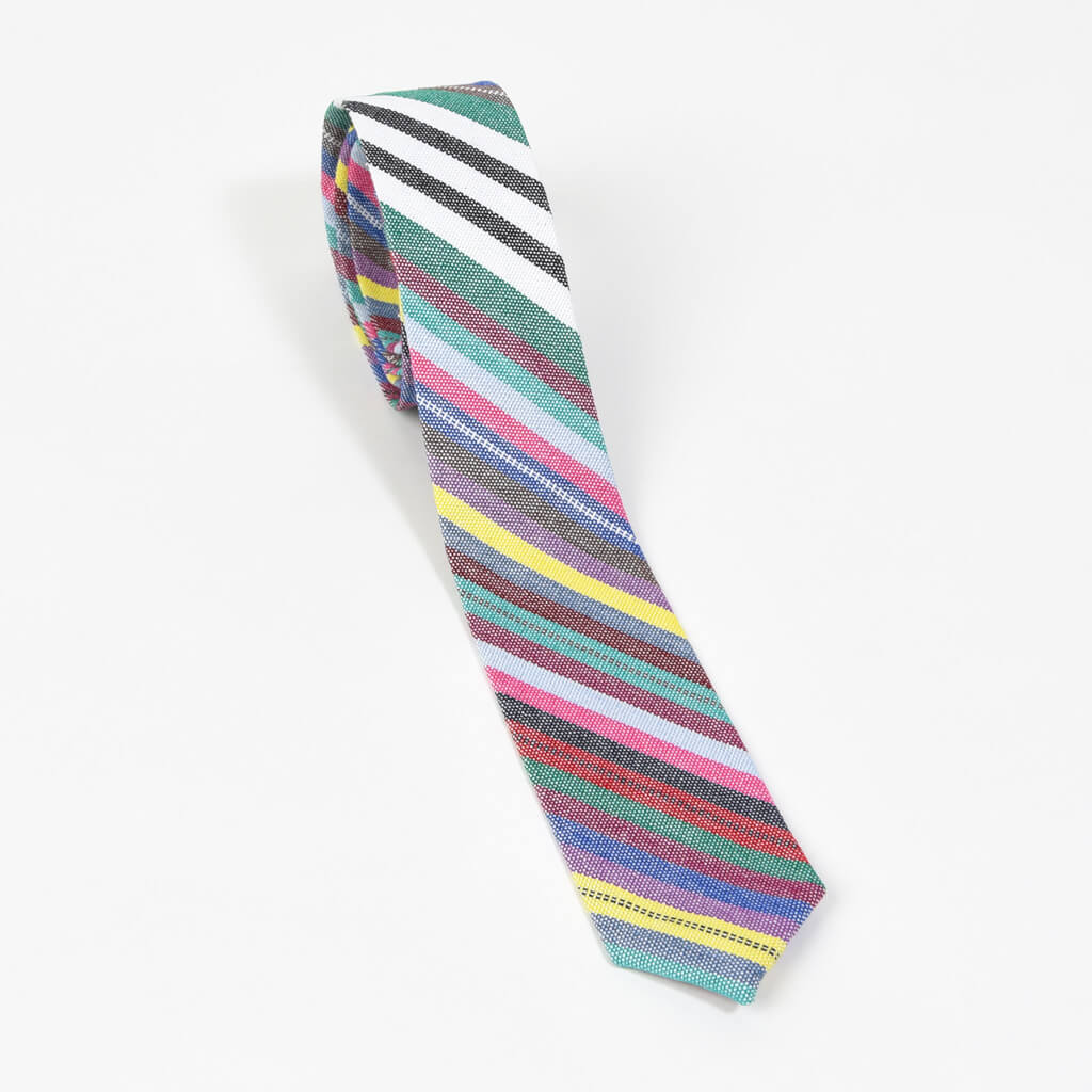 Men's Tie | Soft Multi Stripes