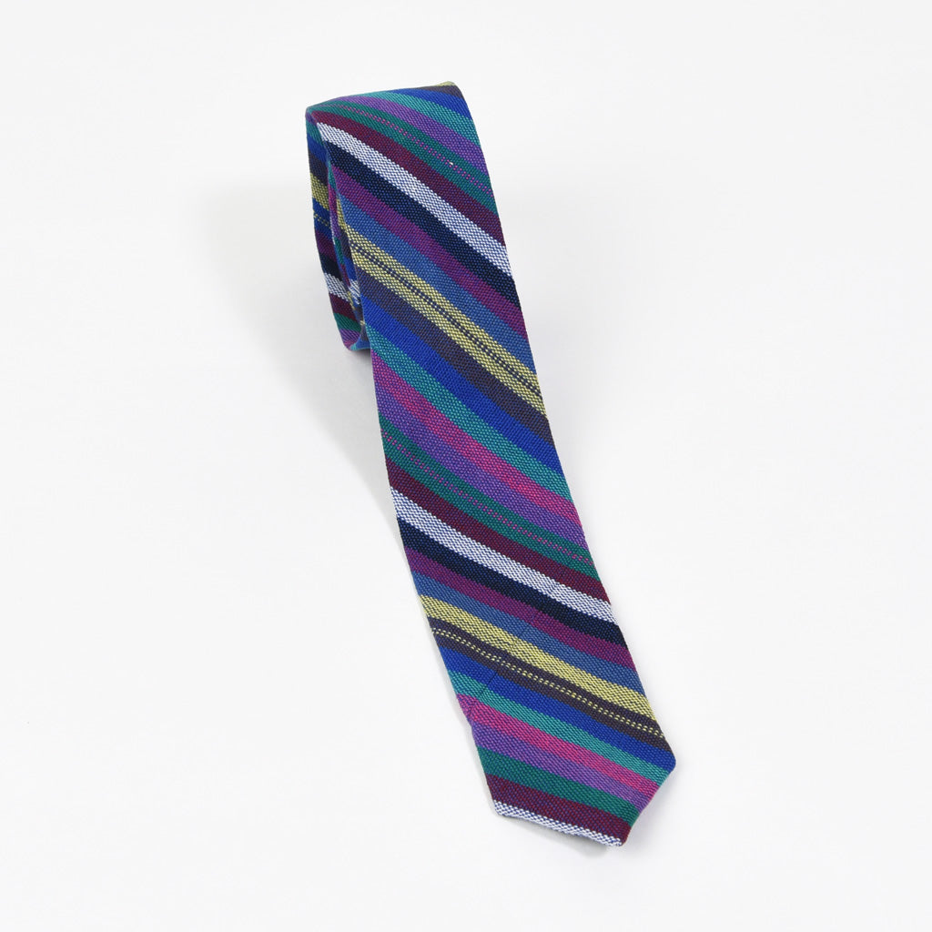 Men's Tie | Cobalt Stripes