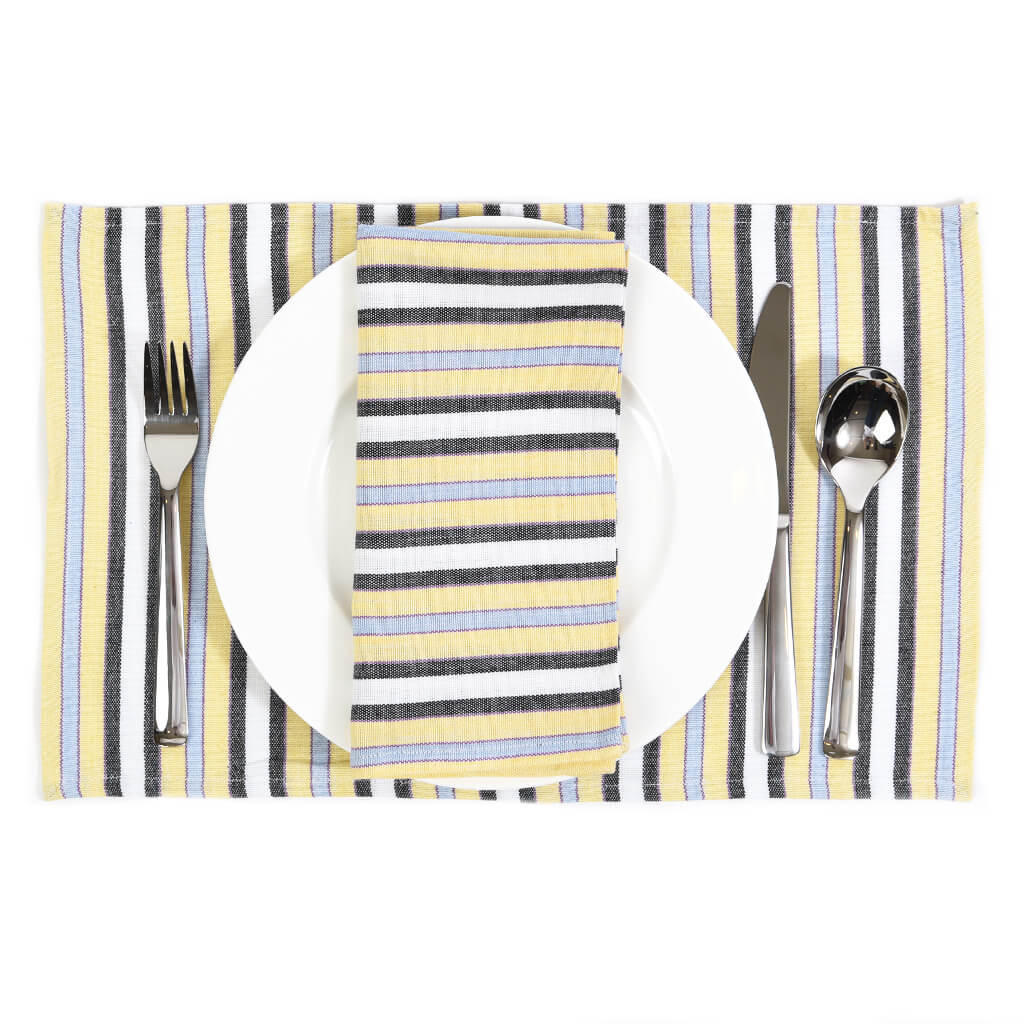 Striped Placemats | Country French Stripes