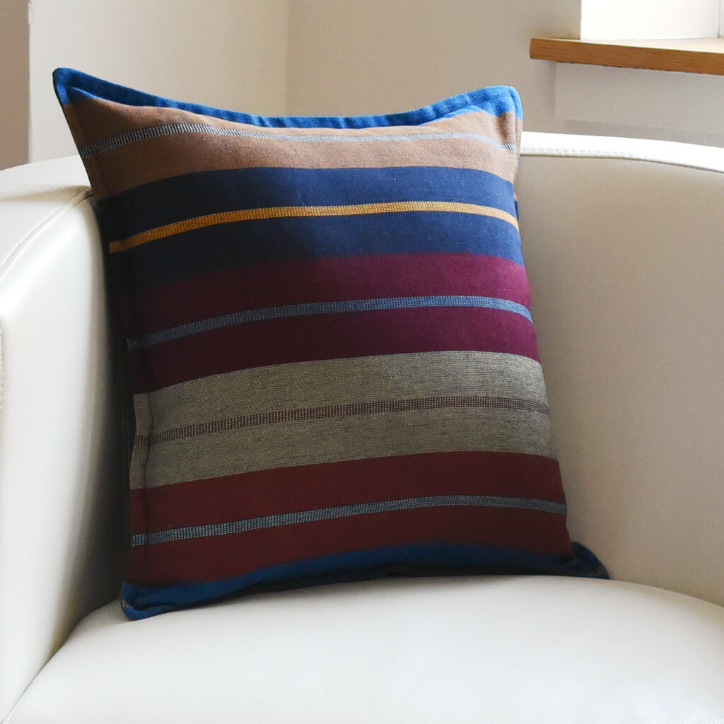 Mayamam Stripes Pillows | Wide Indigo