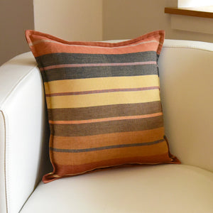 Mayamam Stripes Pillows | Smaller Wide Caramel