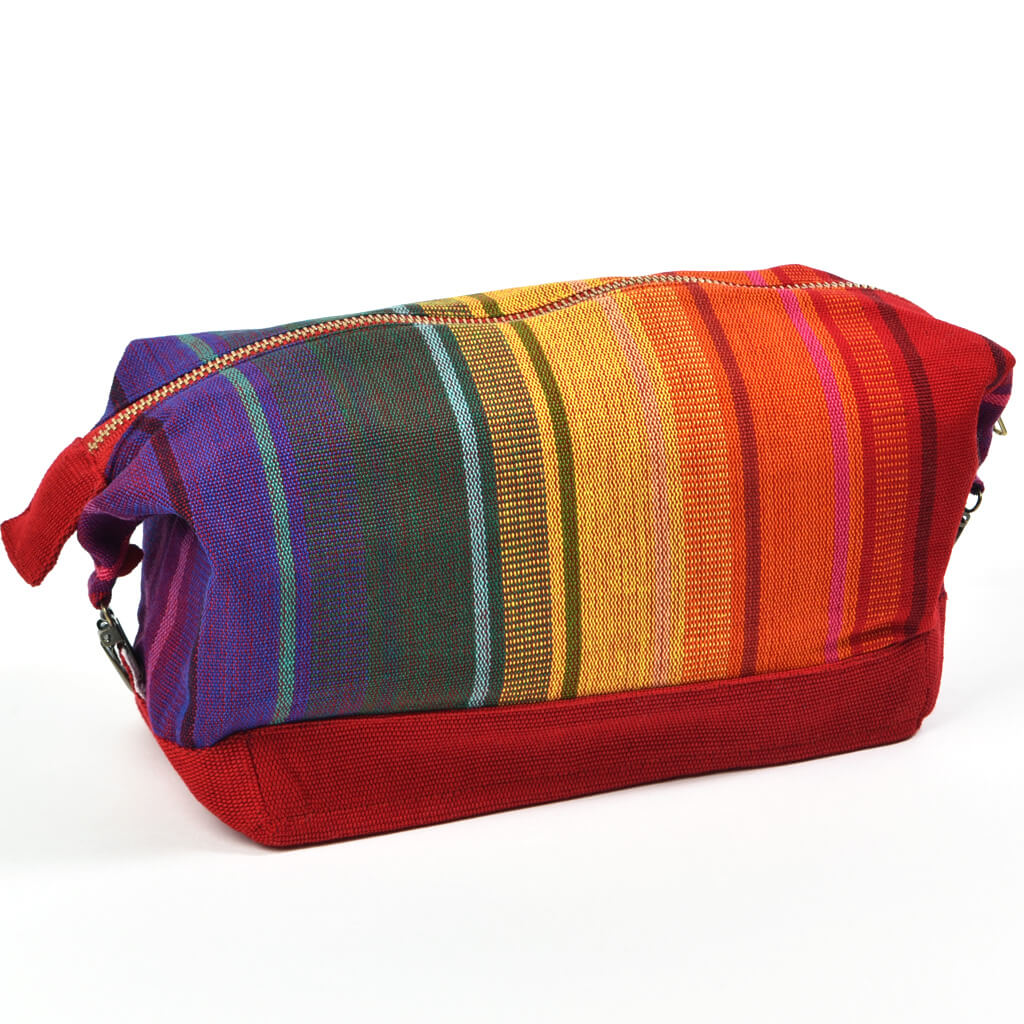 Toiletry Bag | Sunrise Stripe