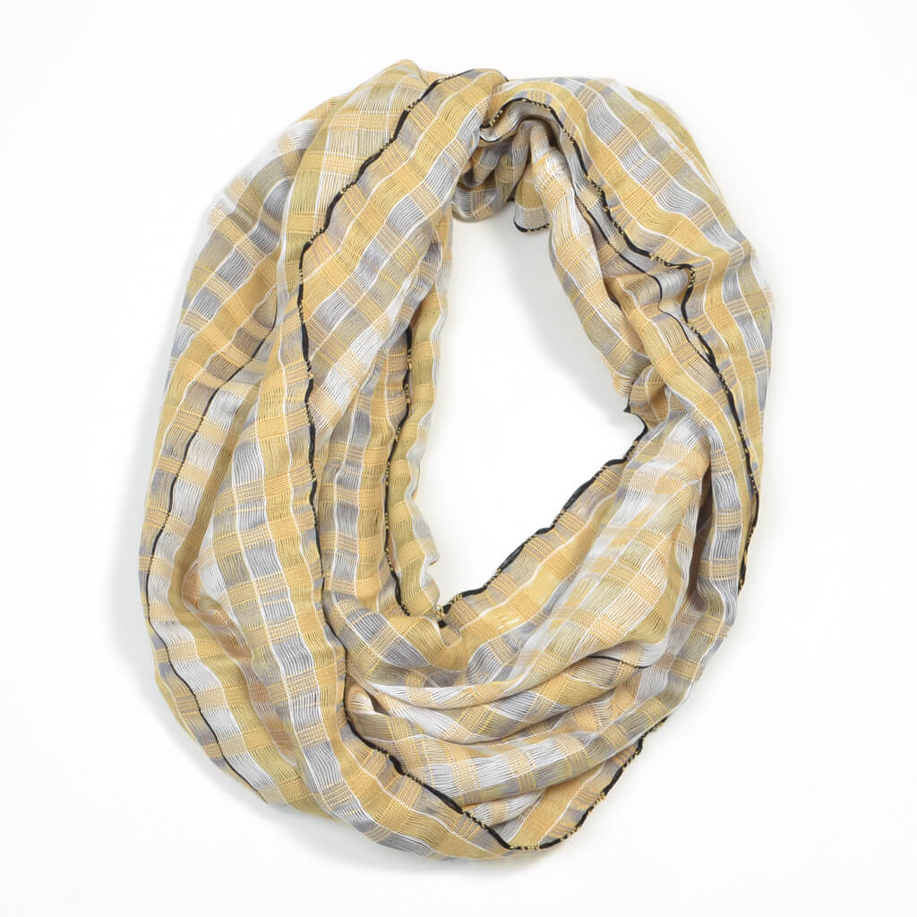 Infinity Scarf | Champagne & Pearls