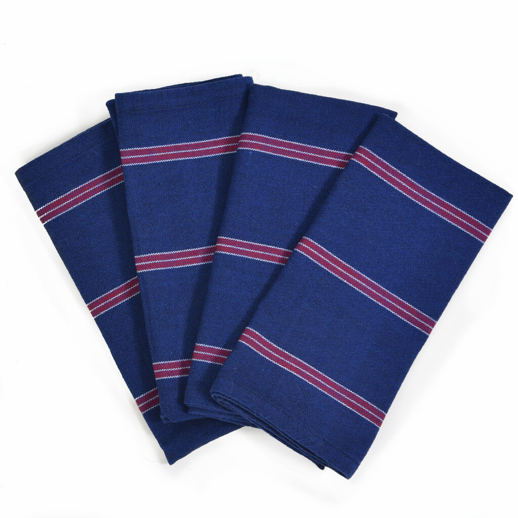 Table Napkins | Red, White, and Blues