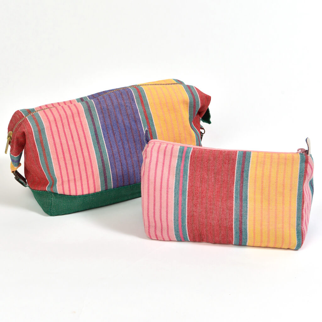 Toiletry Bag Set | Carousel Stripe