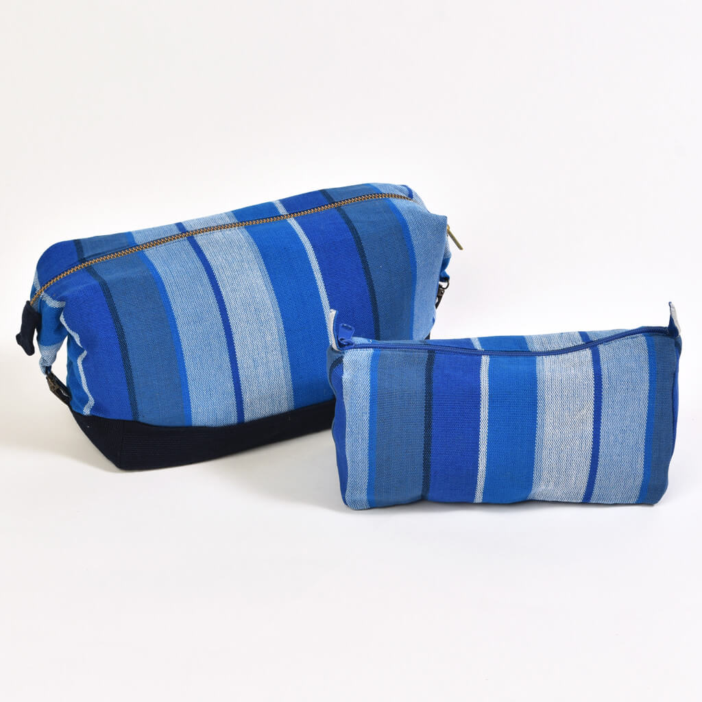 Toiletry Bag Set | Stormy Blues