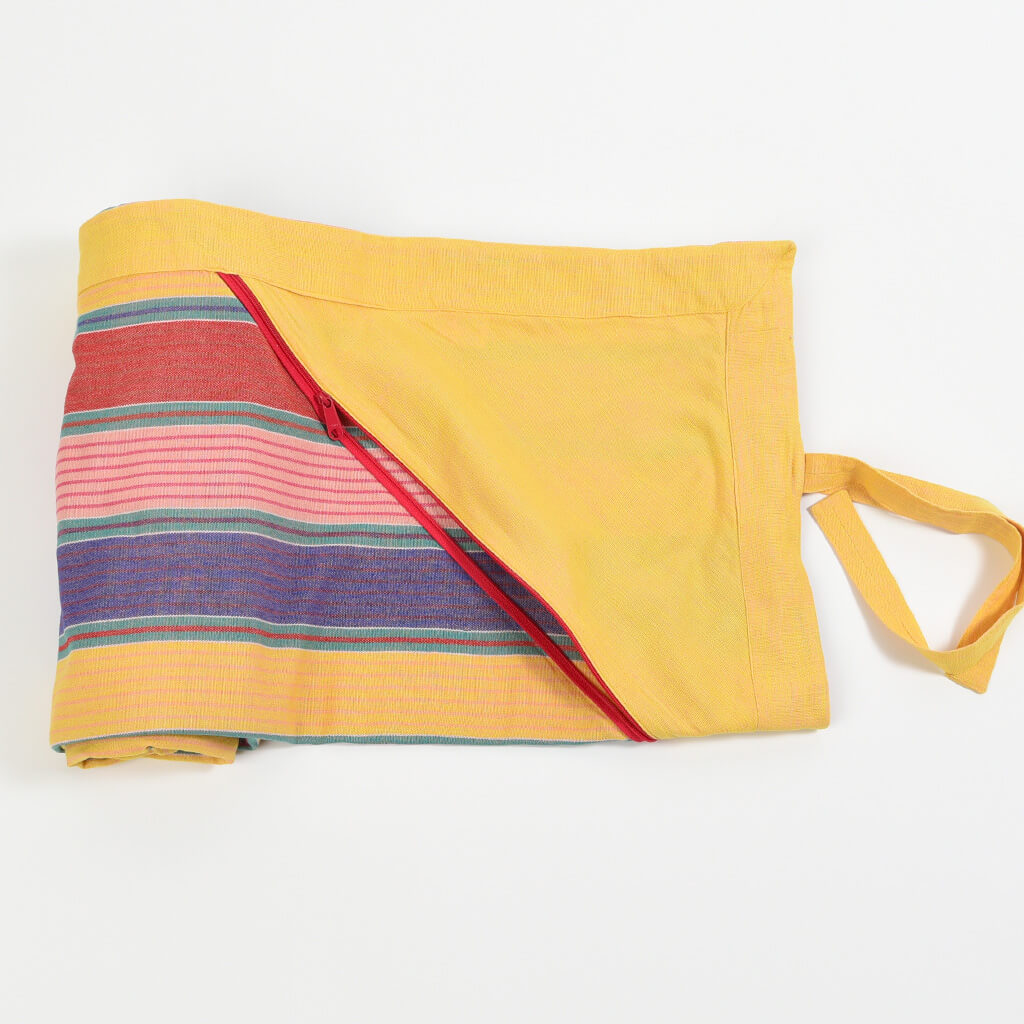 Cotton Beach Throw | Carousel Stripe