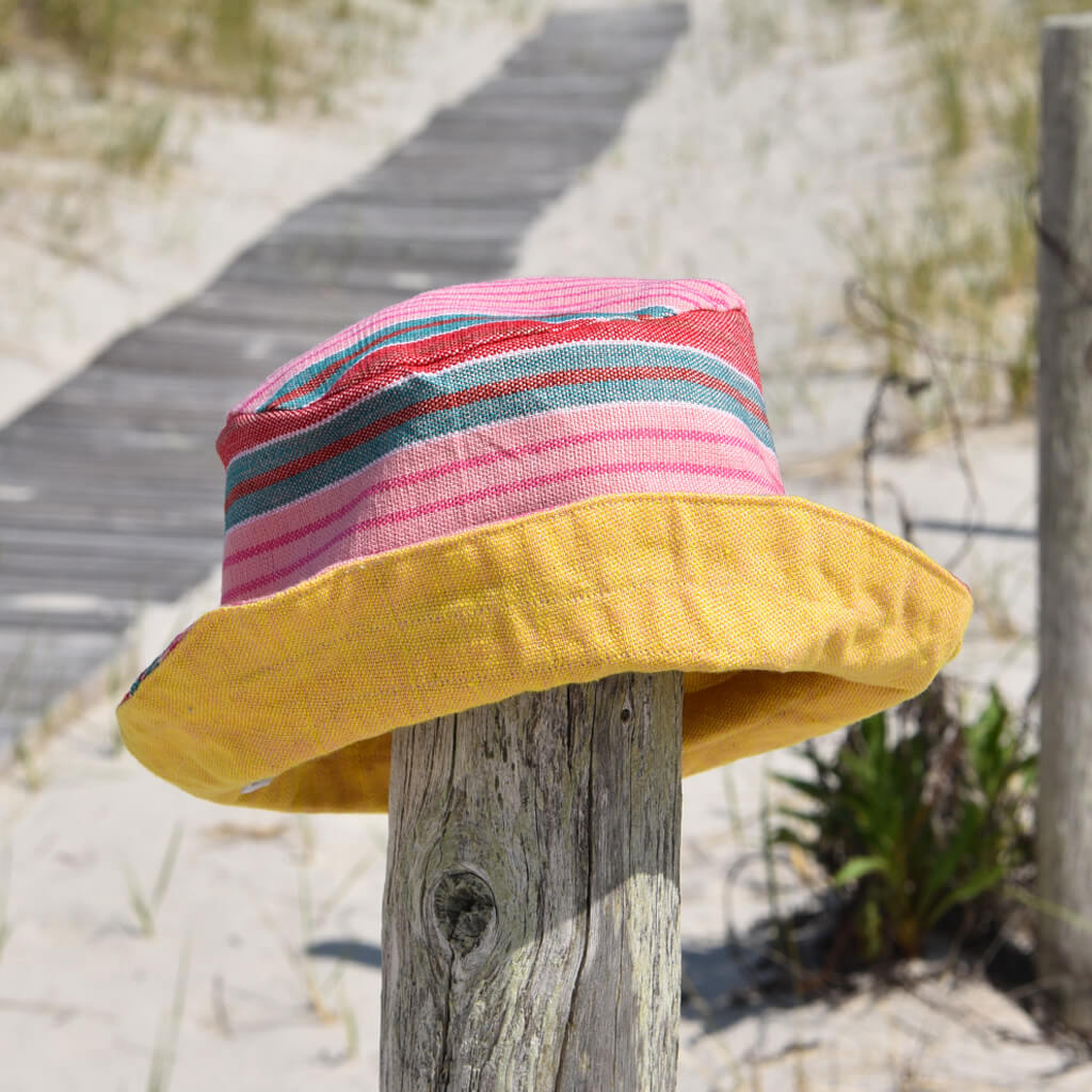 Child Bucket Hat | Carousel Stripe