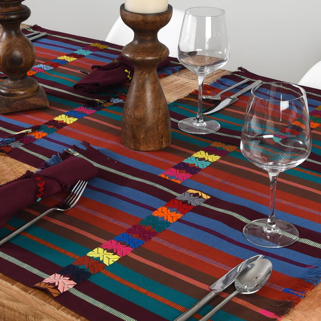 Celebration Table Linen Set | Rich Earth Tones