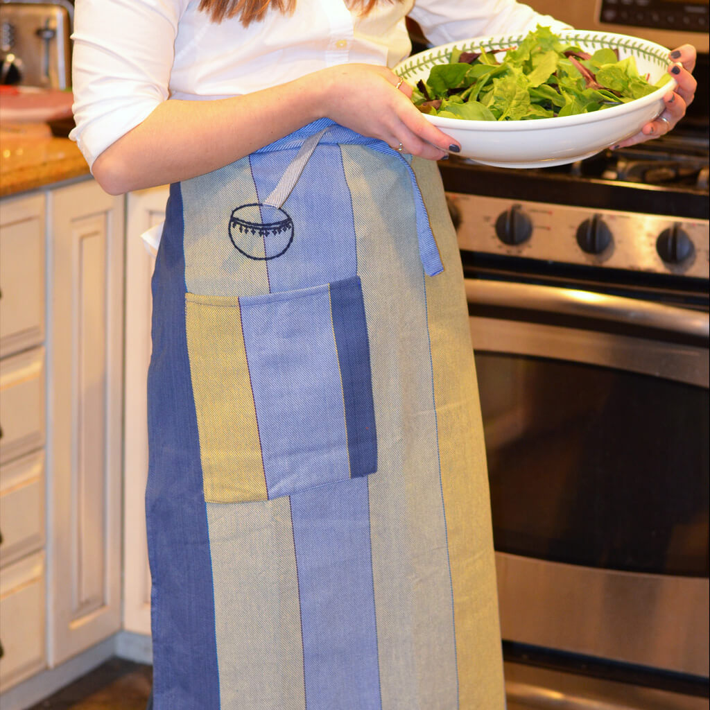Twill Bistro Apron | Celery & Blues