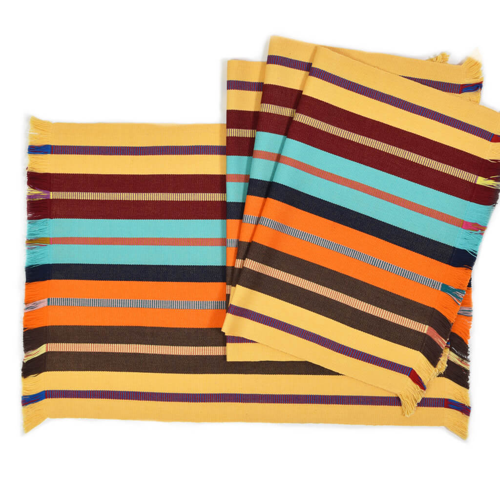Backstrap Stripe Placemat Collection