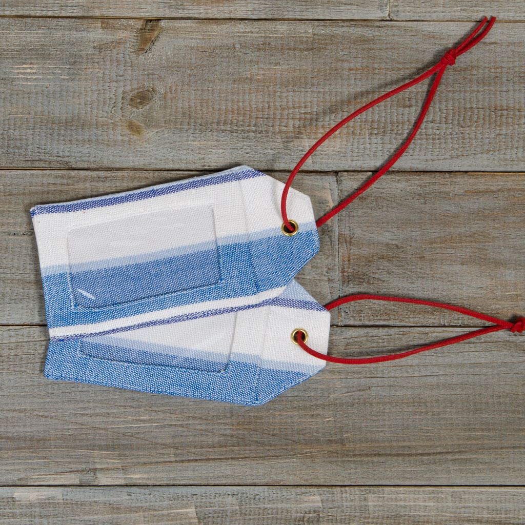 Mayamam Stripe Luggage Tags | Regatta Stripe
