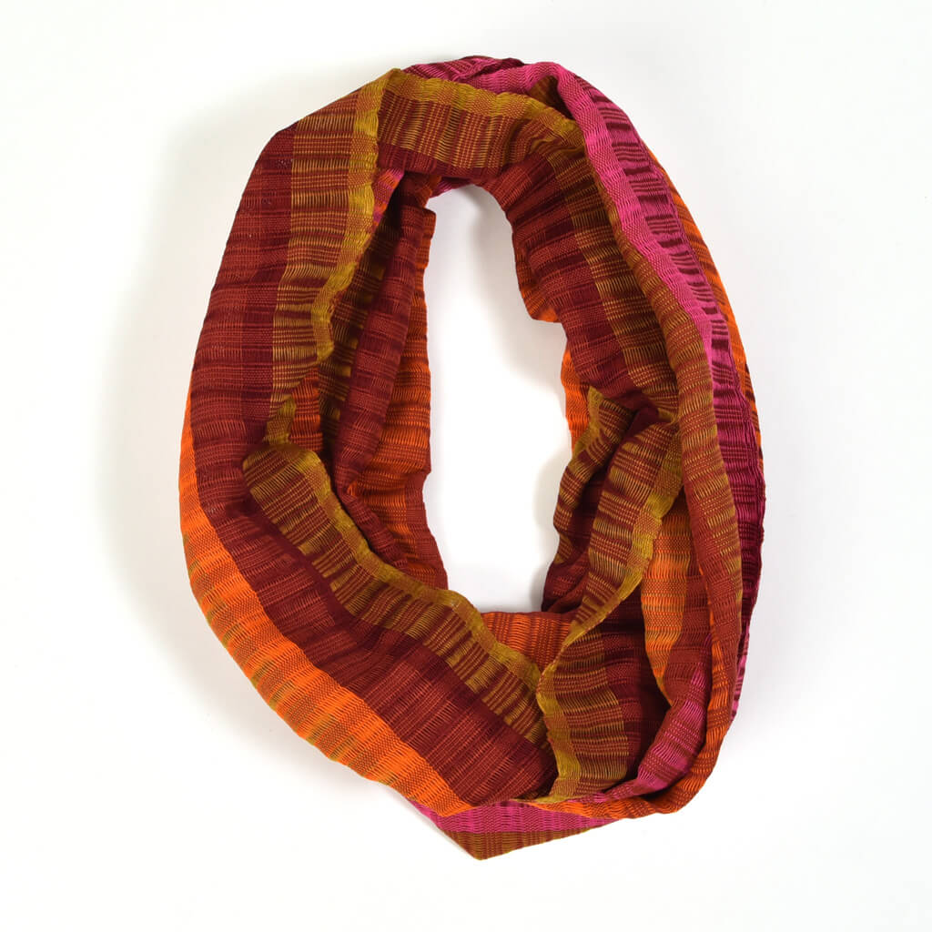 Infinity Scarf | Autumn Leaves