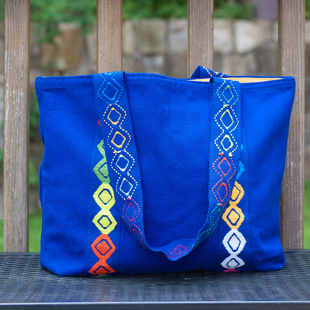 Backstrap Basics Tote | Cobalt Blue