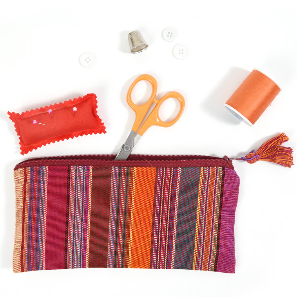 Pencil Case | Berry Jubilee Stripe