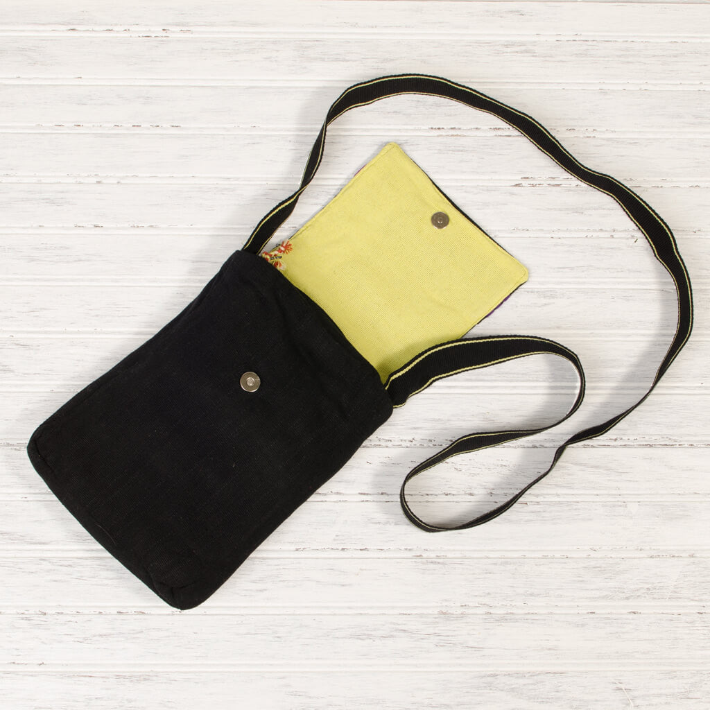 interior backstrap basics hipster black yellow lining