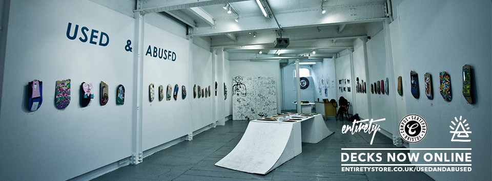 #ThrowbackThursday | USED & ABUSED: skate illustration exhibition '14
