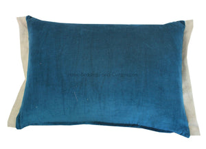 15 coloris disponibles - En-fil-dindienne - Coussin en velours Medicis - 35x50 cm - Home Beddings and Curtains