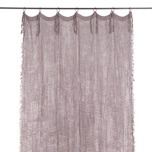18 coloris disponibles - En-fil-dindienne - Rideaux lin Double - 140x280 cm - Home Beddings and Curtains