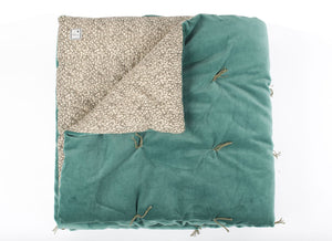4 coloris disponibles En-fil-dindienne - Bout de lit en velours Tosca - 90x200 cm - Home Beddings and Curtains