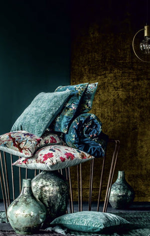 4 colors available - Harmony - Birdy Velvet End duvet cover - 85x200 cm - Home Beddings and Curtains
