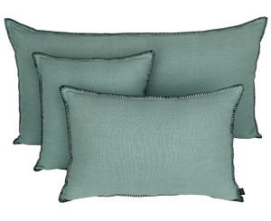 10 colors available - Harmony - Giant Mansa washed linen cushion cover - 55x110 cm