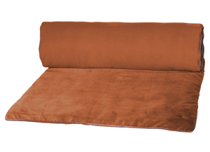 14 colors available - Harmony - Delhi Velvet End of Bed Quilt Cover - 85x200 cm