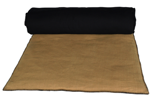 15 colors available Harmony - end of bed Mansa washed linen eiderdown - 85x200 cm