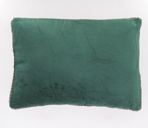 6 coloris disponibles - Indian Song - Coussin en velours Namaste - 35x50 cm