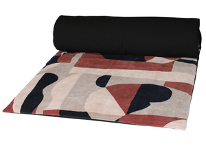 2 colors available - Harmony - Arty Velvet Quilt Cover - 85x200 cm
