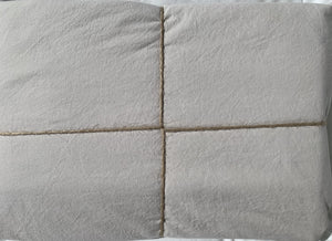 7 colors available - Vent du Sud - Palace lava cotton fitted sheet