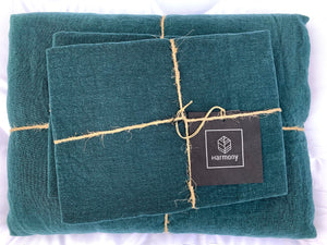 19 colors available - Harmony - Viti washed linen duvet cover