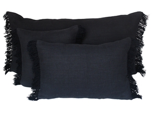 3 colors available - Harmony - Wani washed linen cushion cover - 45x45 or 40x60 cm