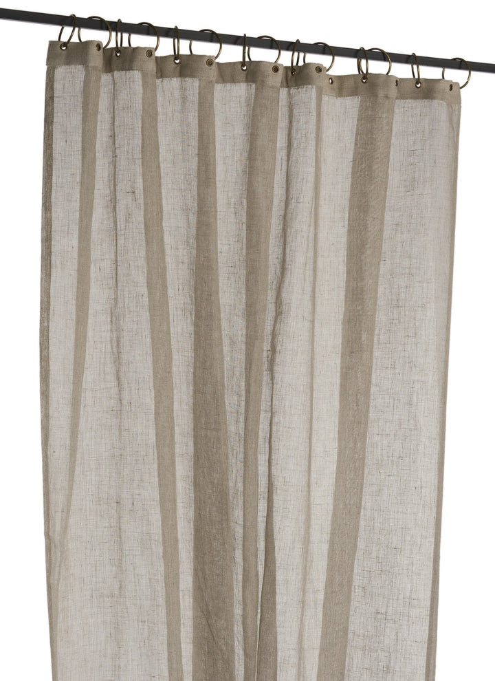En-fil-dindienne - Rideaux en voile de lin Brise - Naturel - 130x280 cm - Home Beddings and Curtains