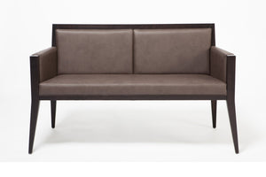 Fauteuil Canapé sofa cuir design italien Executive D - hetre massif - Livoni - Home Beddings and Curtains