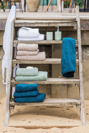 Harmony - Terry Towel Issey - 100% cotton - White - Home Beddings and Curtains