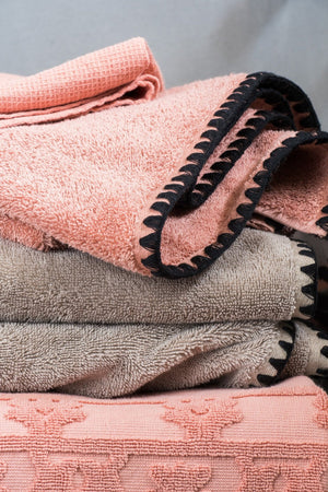 Harmony - Terry Towel Issey - 100% cotton - Granite - Home Beddings and Curtains