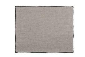 Harmony - Set de table en lin Luri - Gris Granit - 35x45 cm - Home Beddings and Curtains
