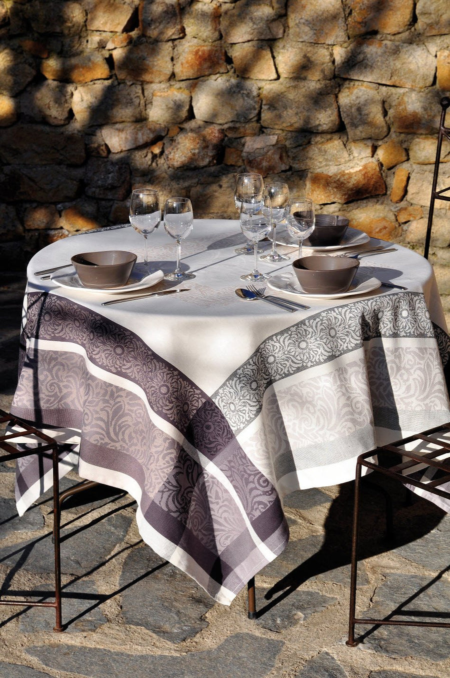 Stof - Nappe en coton BARGEME - 100% Coton - Home Beddings and Curtains