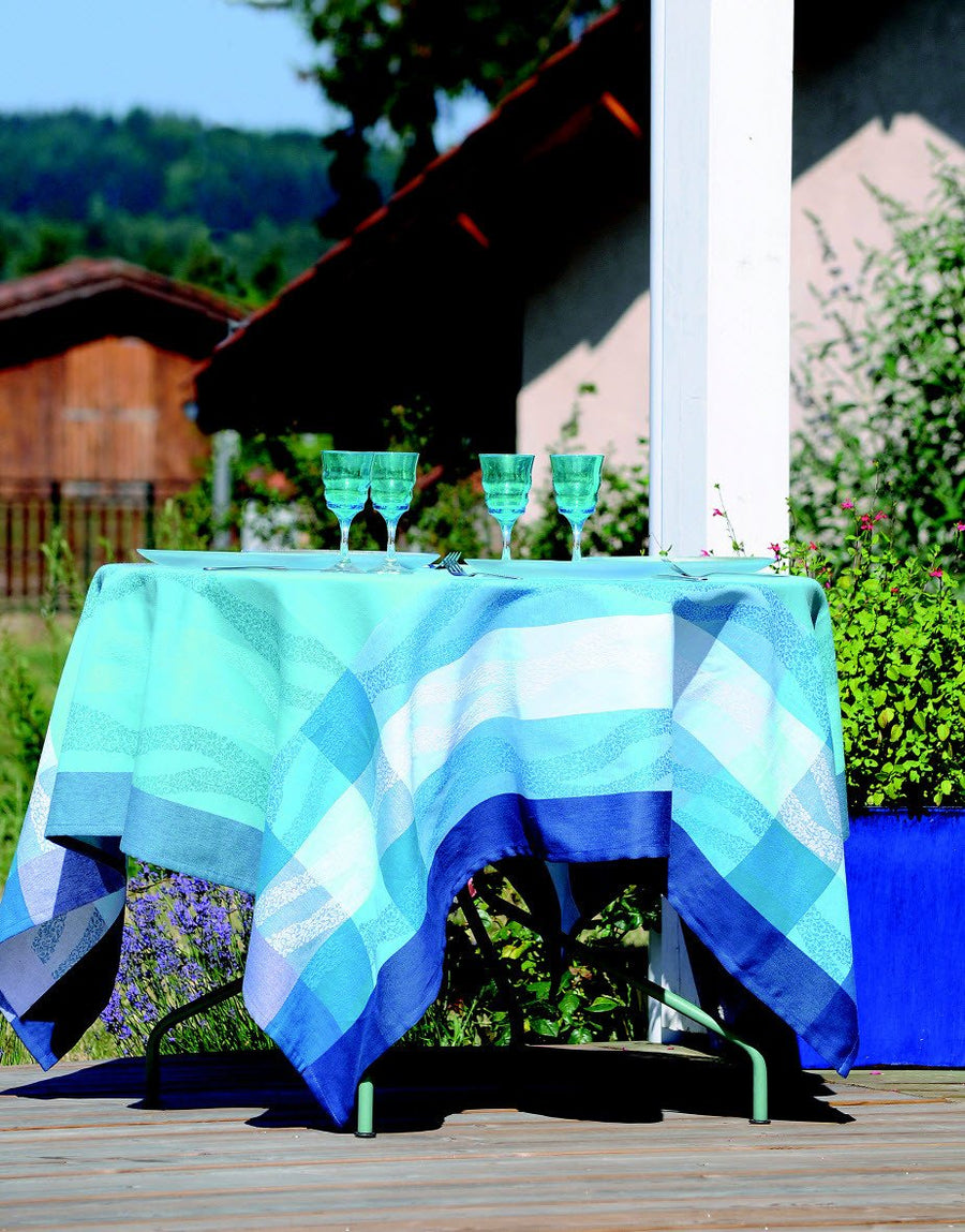 Stof - Nappe ONDINE - 100% Coton - Home Beddings and Curtains