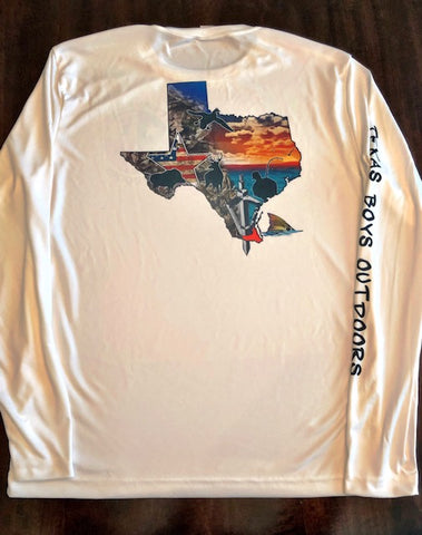 Dri-Fit L/S - State of Texas