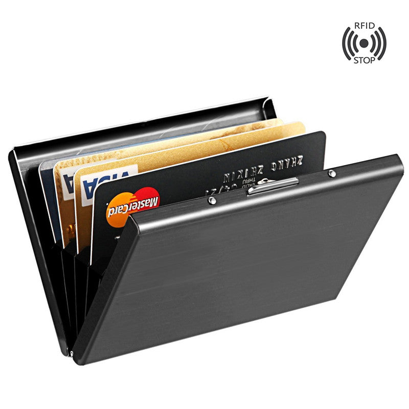 Stainless Steel Aluminium Metal Credit Card Id Case- Business Cards ...