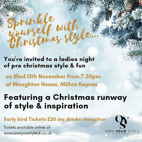 Own Your Style Pre-Christmas Celebration