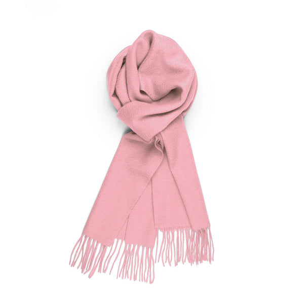 Pure Cashmere Scarf, Light Pink